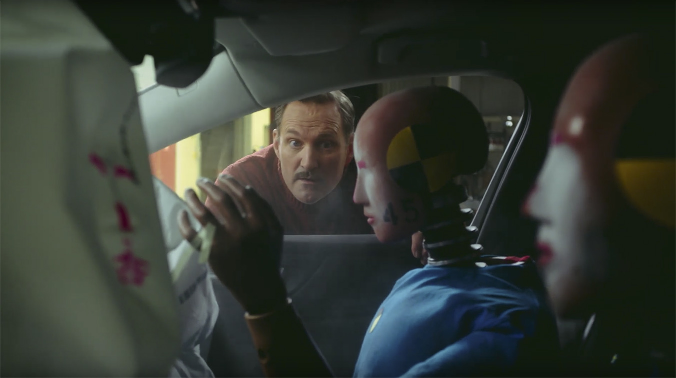 Seen+Noted: Grey puts Volvo cars to the Ultimate Safety Test in new campaign with a twist