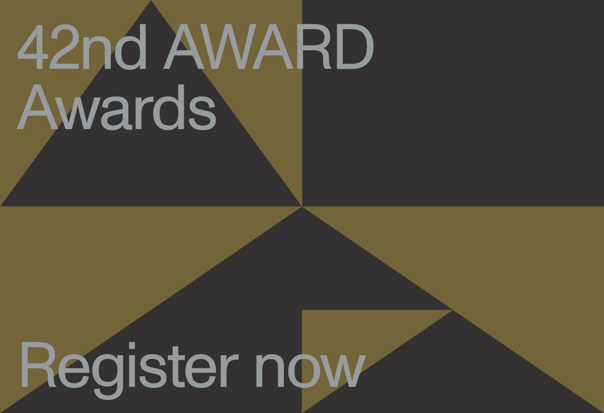 Register now for the 42nd AWARD Awards Virtual Ceremony on Friday 21 May at 1pm Singapore time