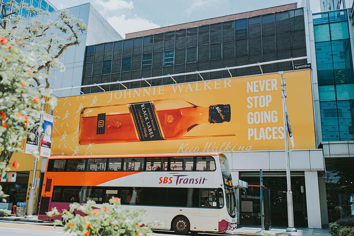 72andSunny Singapore partners with Diageo to launch Johnnie Walker out-of-home campaign