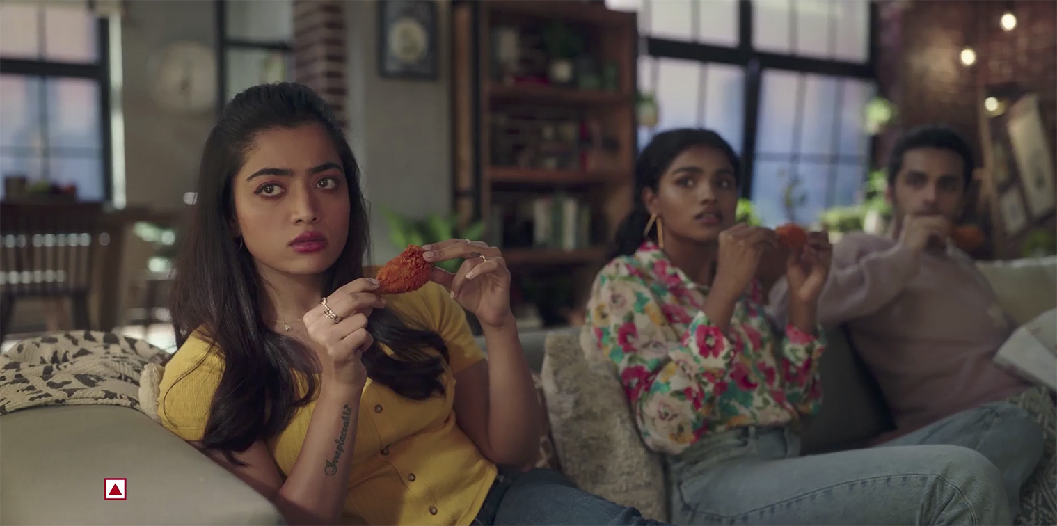 DDB Mudra Group India releases 'Just Can't Get Enough' campaign for McDonald's McSpicy Fried Chicken starring Rashmika Mandanna