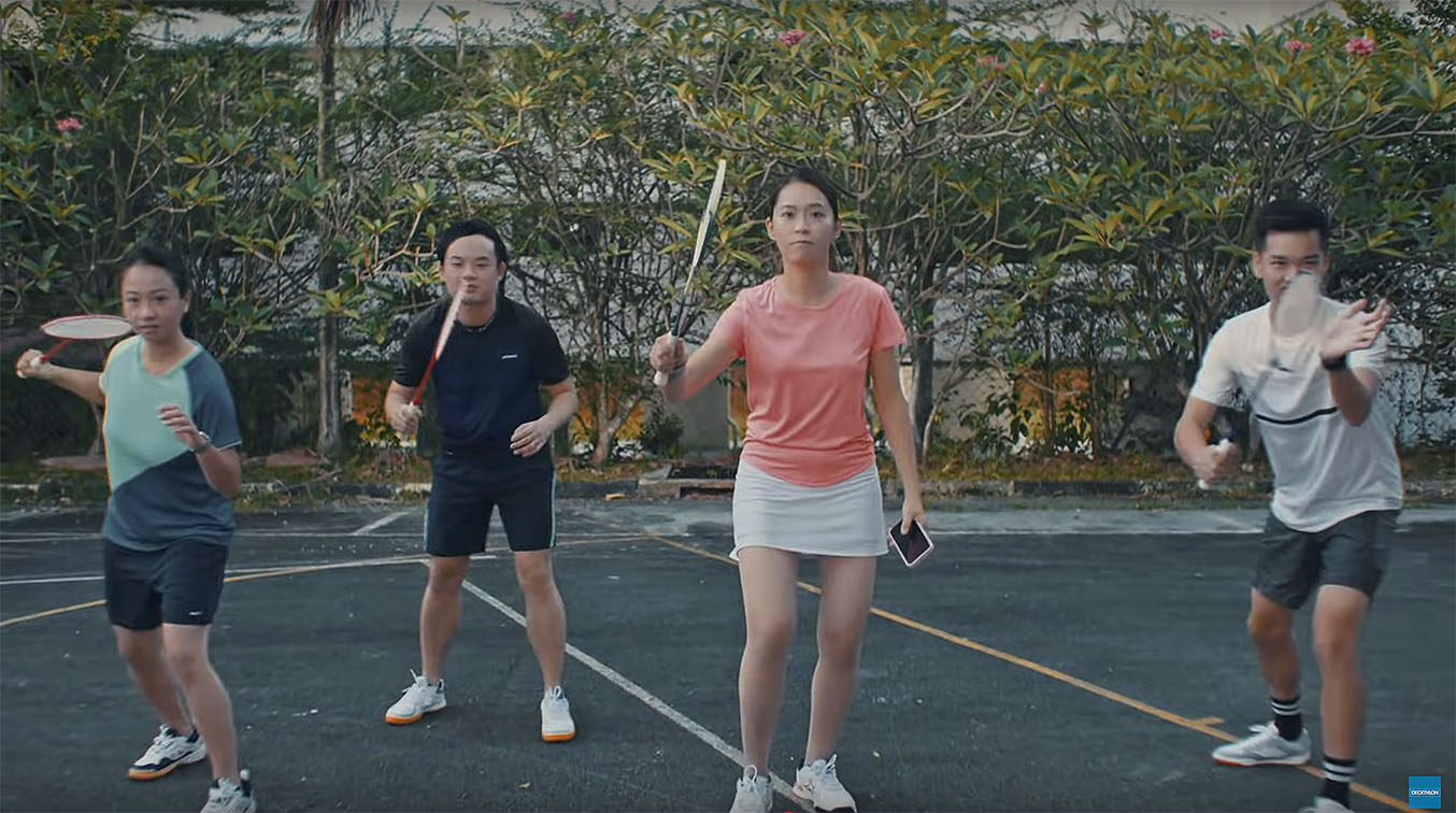 Ogilvy Singapore's Decathlon campaign reminds you that sport isn't about rules as the first rule of sport is to play