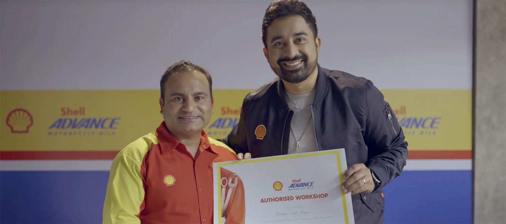 Taproot Dentsu India celebrates the dedication and hard work of mechanics in new Shell work
