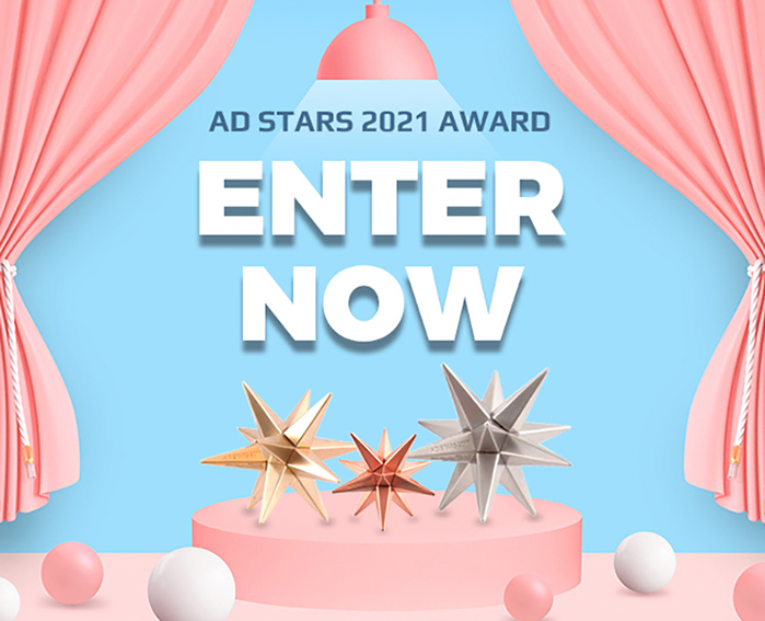 Enter the Ad Stars awards free-of-charge until the deadline of 15th May