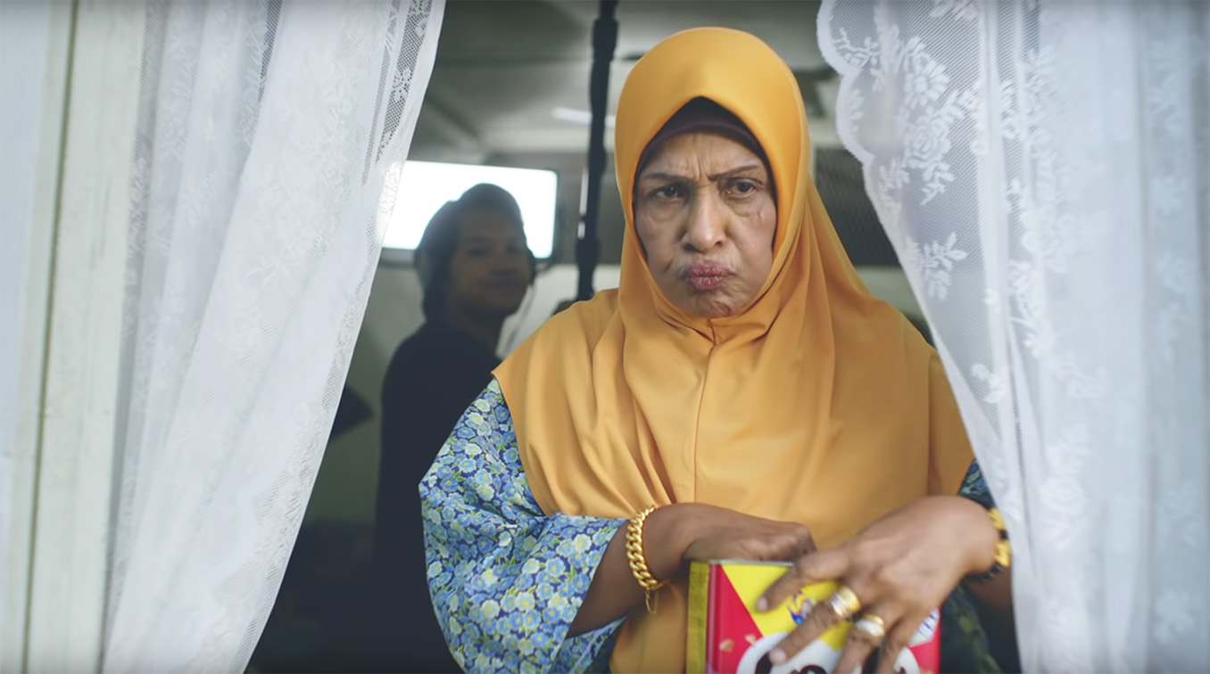 GOVT Singapore change the script this Hari Raya in tongue-in-cheek work for Julie's Biscuits