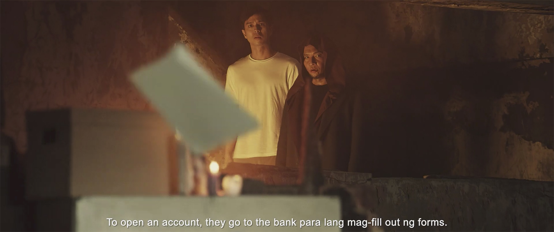 Virgil takes Dante around the world of hassle banking in UnionBank campaign via FCB Manila
