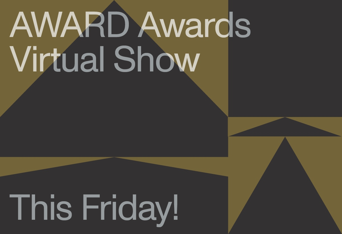 Don't miss the 42nd AWARD Awards Virtual Show today Friday 21 May at 1pm Singapore time