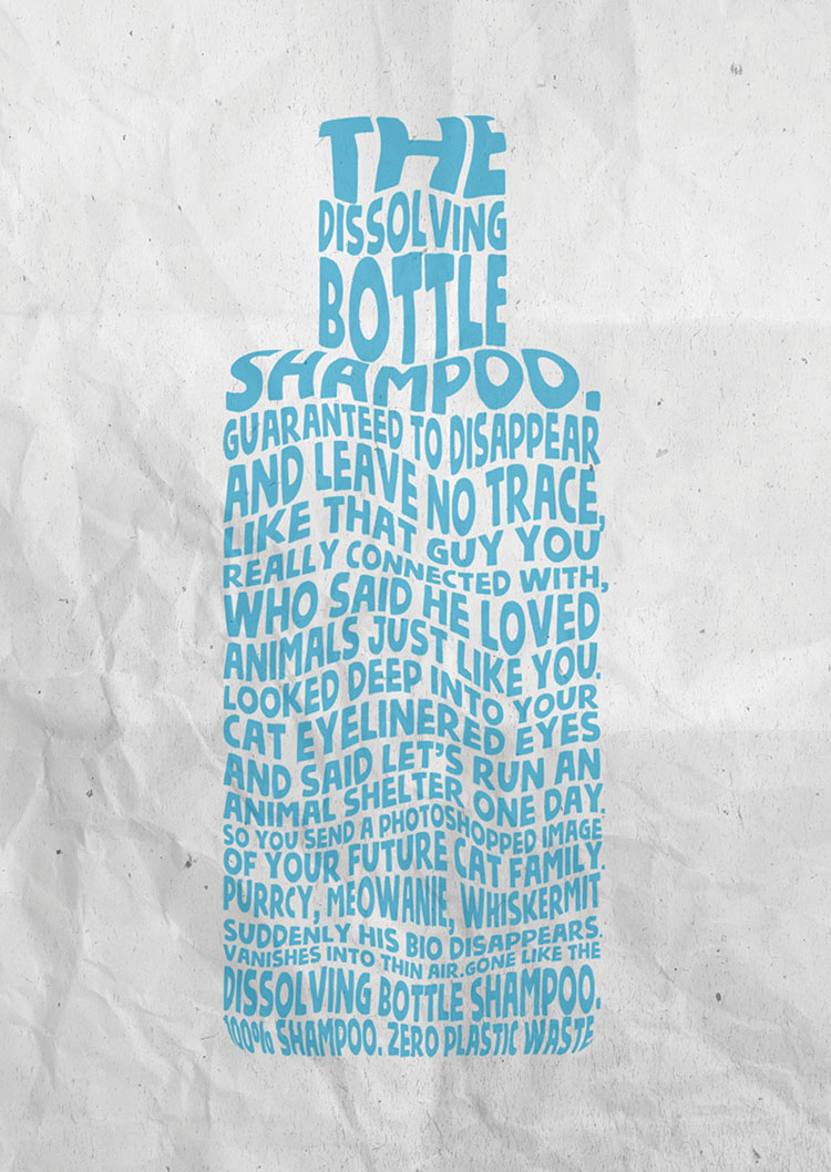 BBDO Guerrero Philippines extends their Dissolving Bottle campaign with new print work