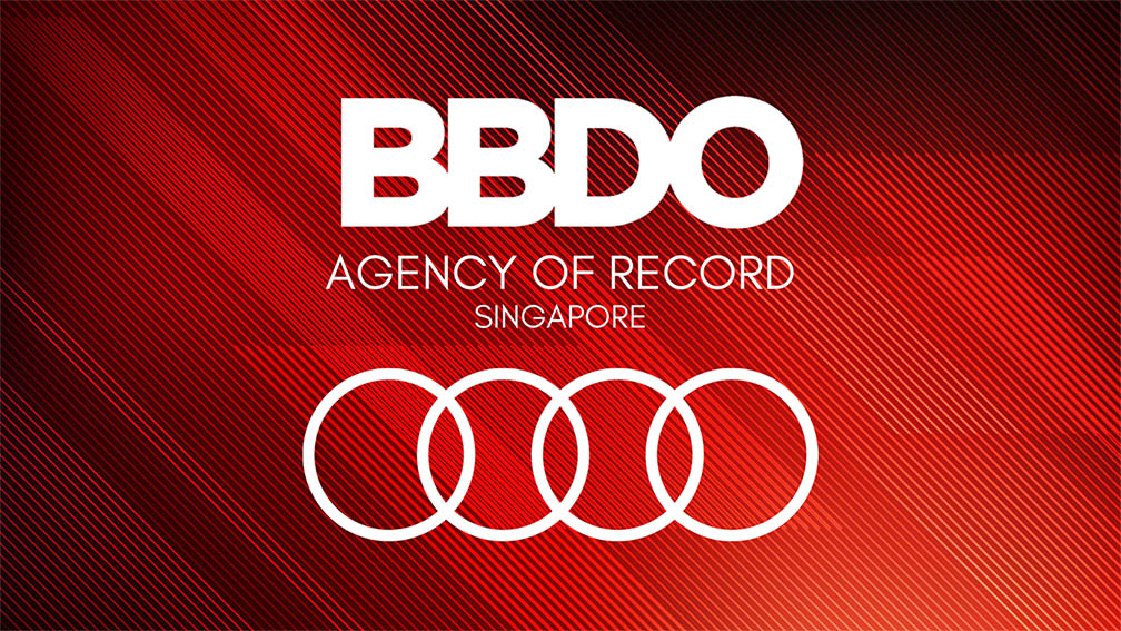 Audi Singapore names BBDO Singapore as agency of record following competitive pitch process
