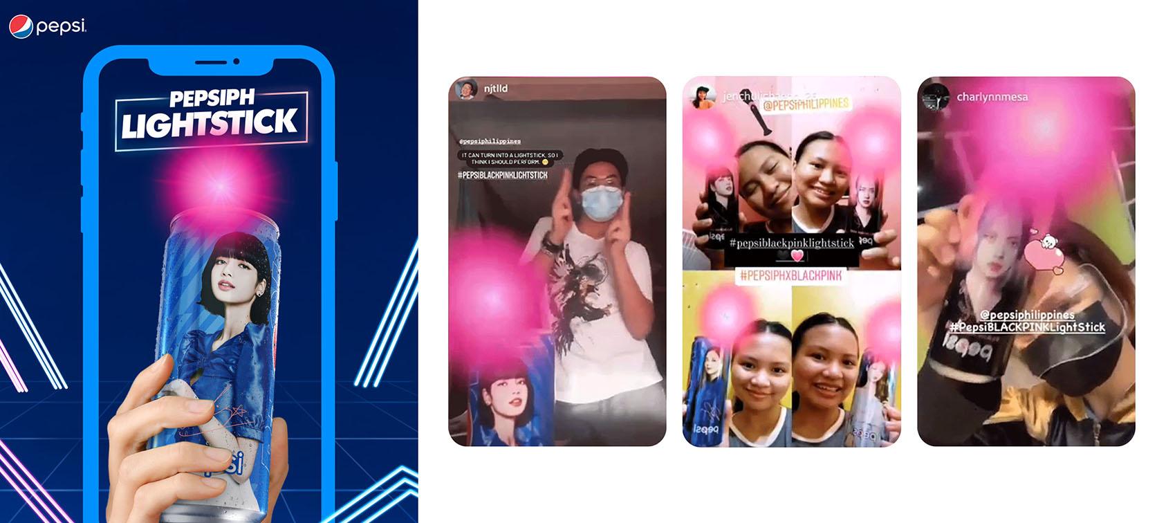 BBDO Guerrero Philippines transforms Pepsi cans into K-pop band BLACKPINK light sticks