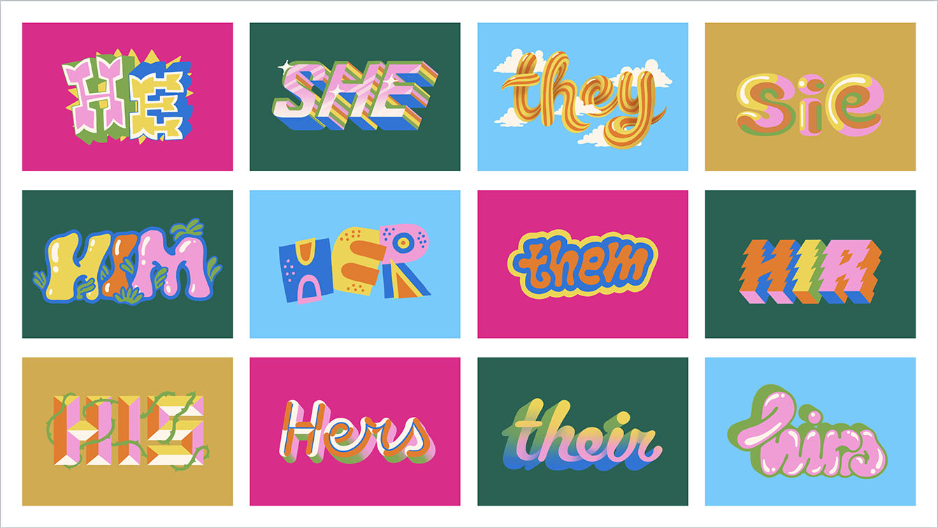 VMLY&R unveils new Proud Pronoun Project where individuals can select their personal gender pronouns