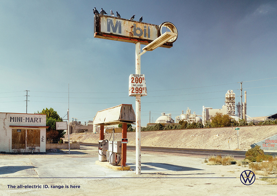 """Seen+Noted: Volkswagen """"Abandoned Stations"""""""