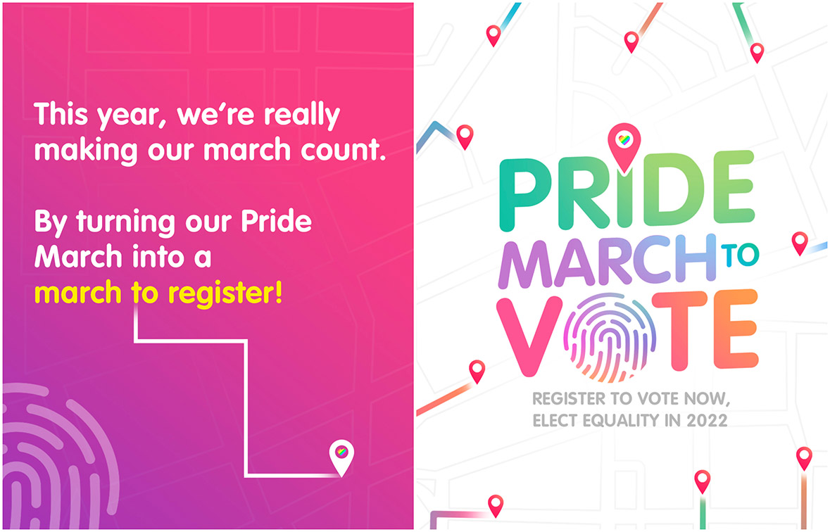 Propel Manila turns 2021 Pride March into a march to register to vote