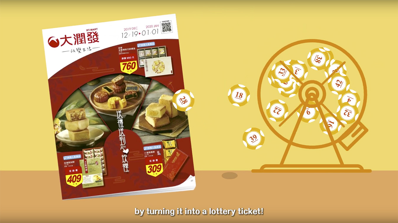 RT-MART boosts lunar holiday sales in Taiwan with innovative lotto campaign via Wunderman Thompson Taipei