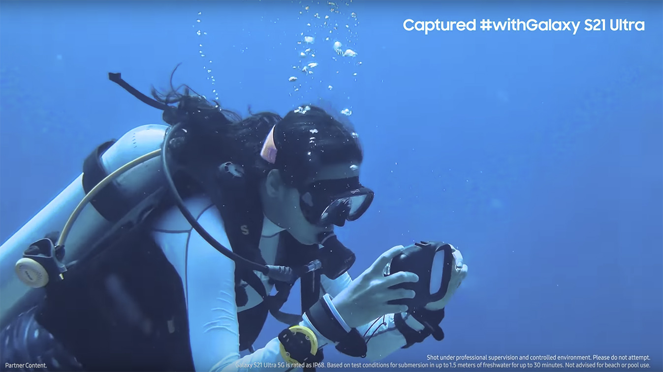 Samsung India and Cheil India partner with National Geographic Traveller to experience underwater expedition