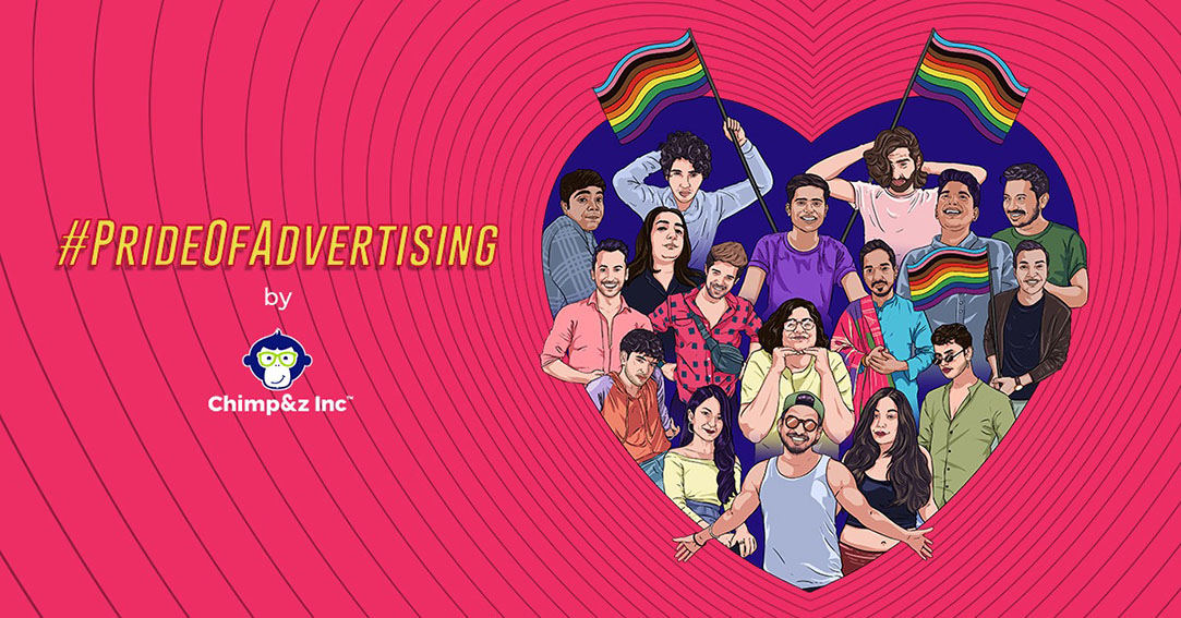 Chimp&z Inc India celebrates inclusivity and acceptance in the workplaces with #PrideOfAdvertising initiative