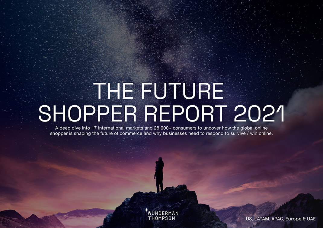 Wunderman Thompson Commerce study reveals over half of spend globally will be online post-Covid-19 pandemic