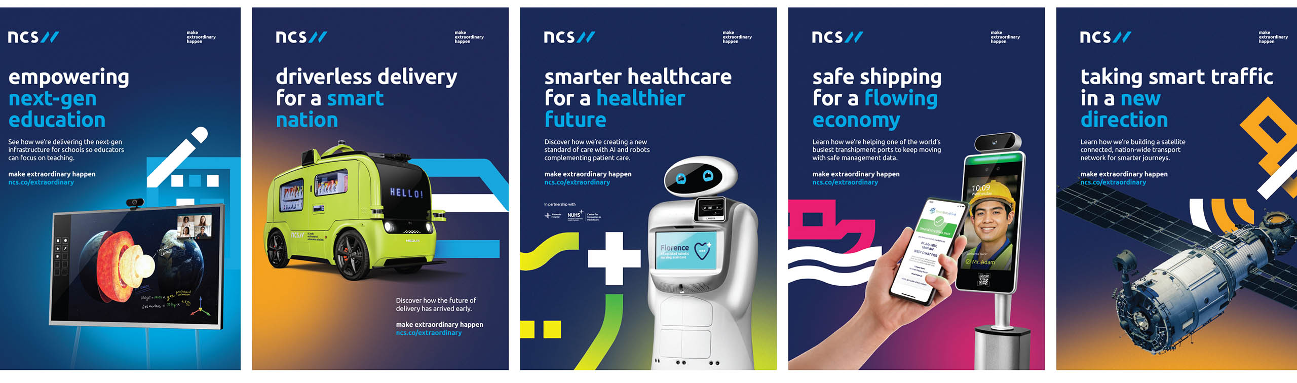 NCS launches brand transformation campaign in APAC with dentsu as lead agency partner