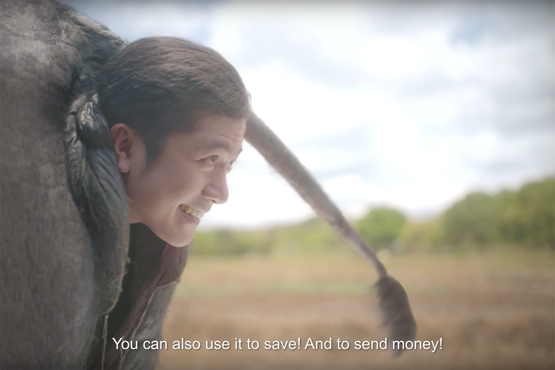 Katok Agency Philippines creates deranged campaign for DiskarTech App showing the easiest way to loan and save