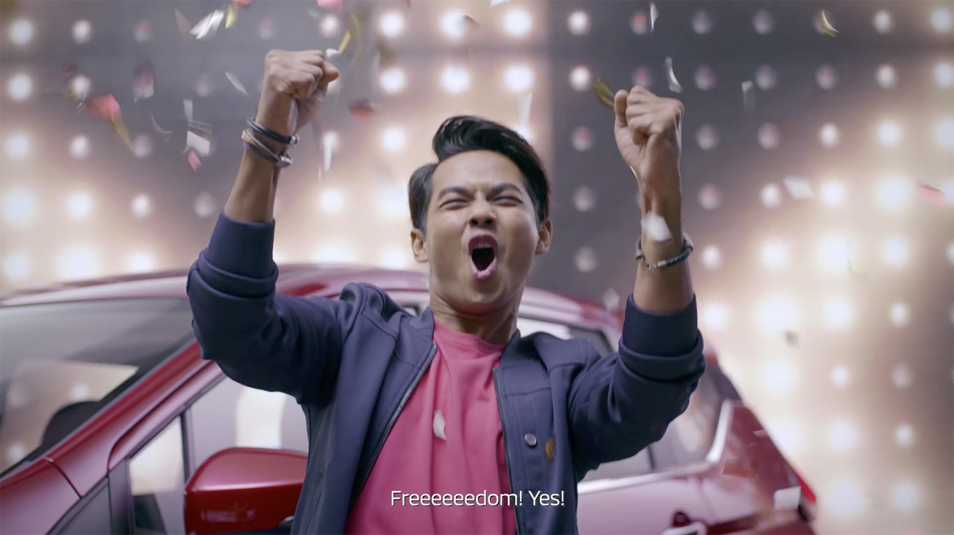 Muma Malaysia and Mitsubishi tell quirky tale of men attempting to gain exit licences from wives