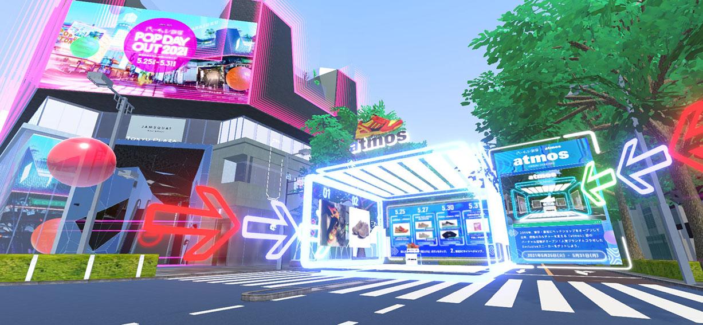 Virtual Shibuya expands to Harajuku with V-Commerce via Geometry Ogilvy Japan