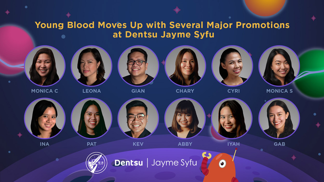 Dentsu Jayme Syfu Philippines elevates 12 staff