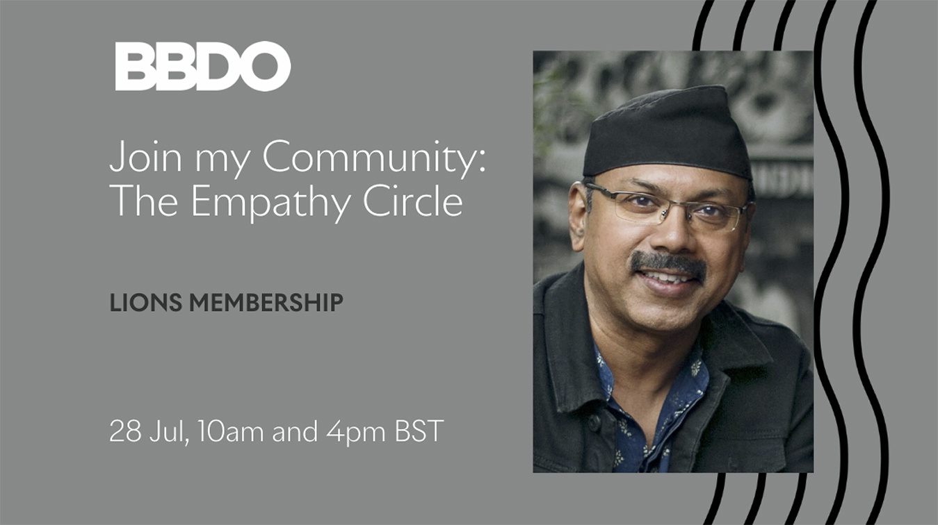 BBDO's Josy Paul hosts first Cannes Lions Community Meet up – The Empathy Circle