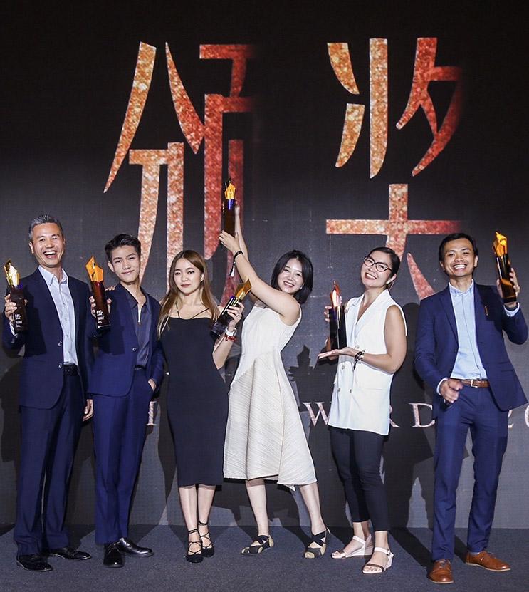 F5 wins 6 awards at last week's Shanghai International Advertising Festival 2021