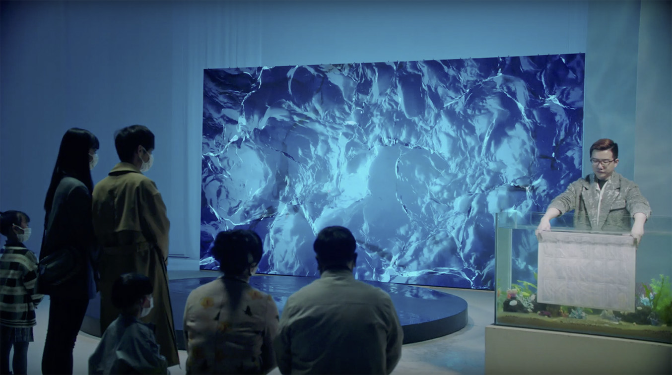 New F5 Shanghai campaign for Alibaba Group and WWF shines a spotlight on the ocean pollution caused by disposable face masks