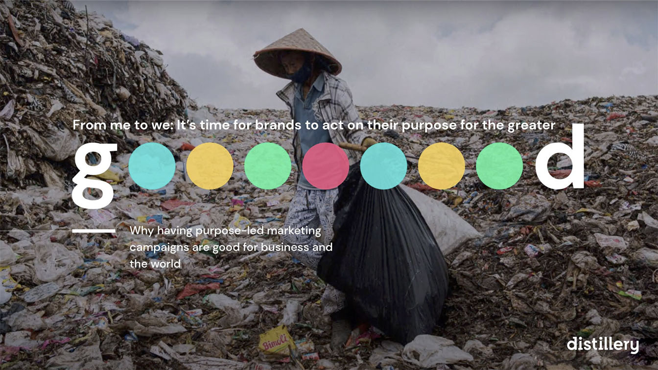 New research by distillery shows Indonesians & Malaysians want to see more social purpose in brands, compared to Singaporeans
