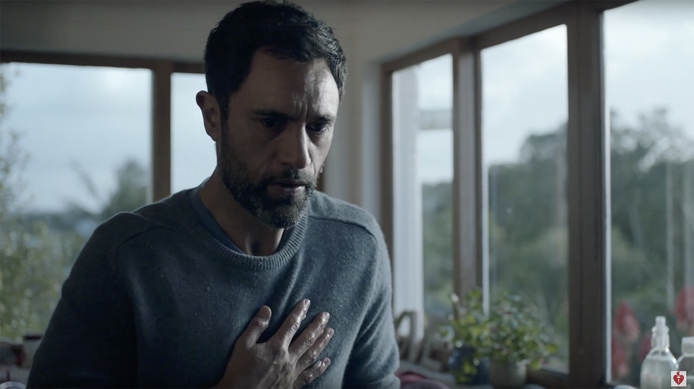 The Heart Foundation asks Kiwis to make the right call in new via dentsu NZ and Finch