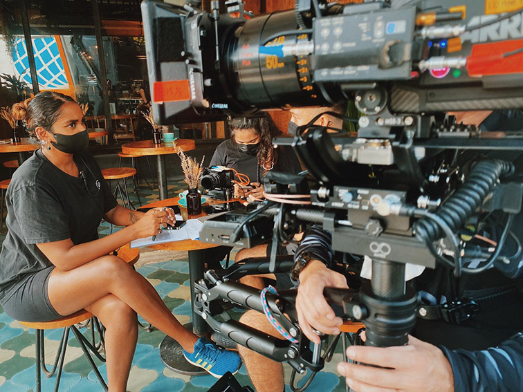 electriclimefilm's Dora Claire David describes her work life and 'thriving under pressure'