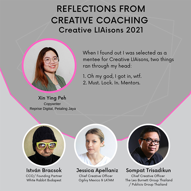 Reprise Digital Malaysia's Xin Ying Peh shares her Creative LIAisions 2021 experience