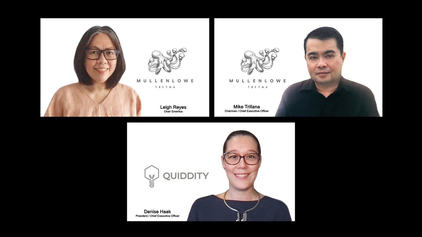 MullenLowe TREYNA Philippines acquires control of Quiddity, launches Qairos Inc.