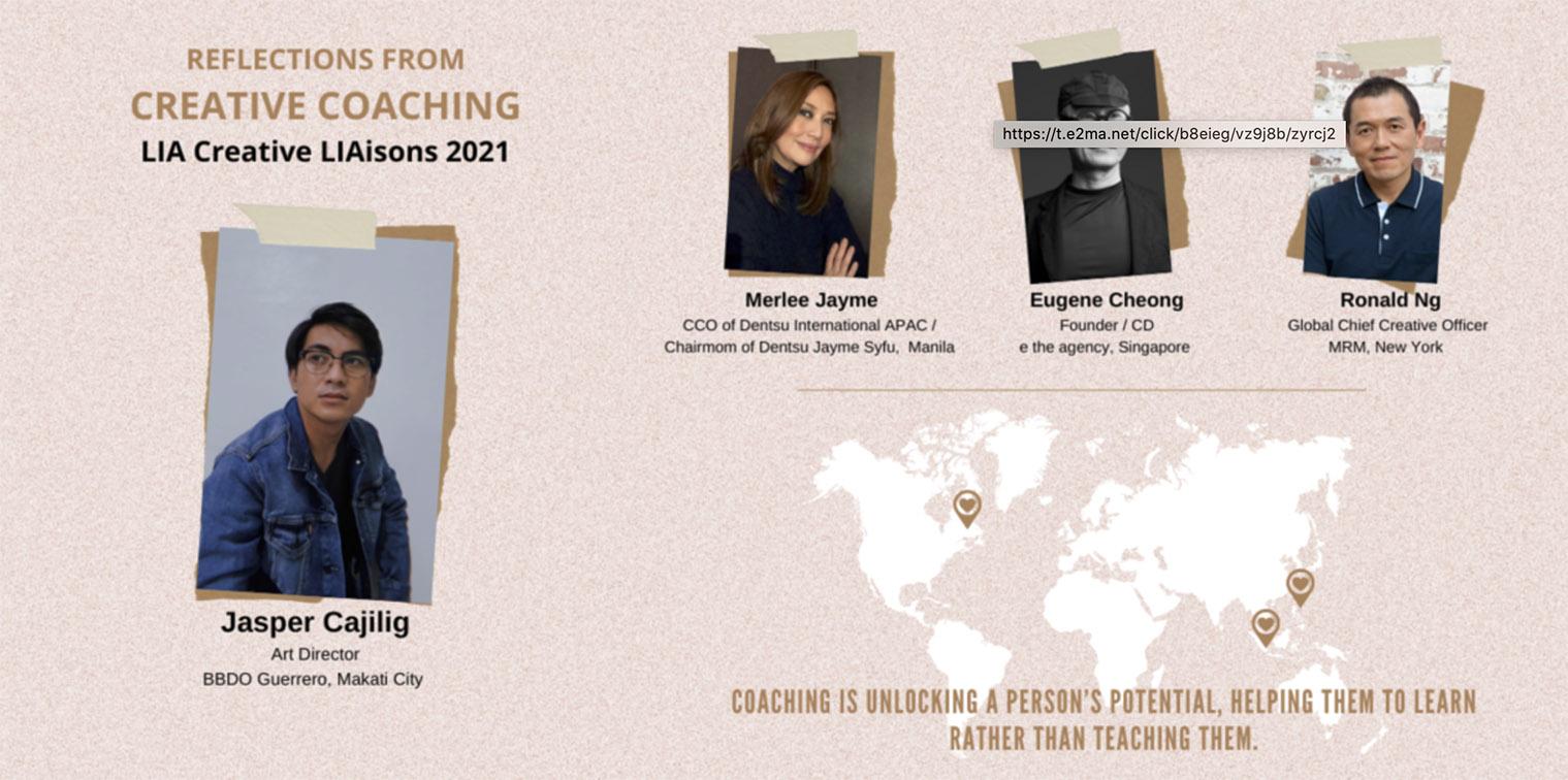Three creatives share their Creative LIAisions 2021 experience