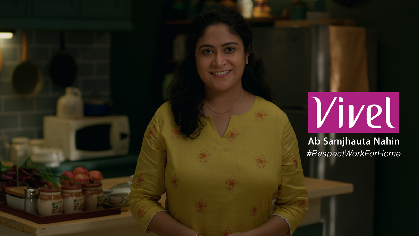 ITC Vivel India champions the cause of 'Working For Home' to create a more gender equal society