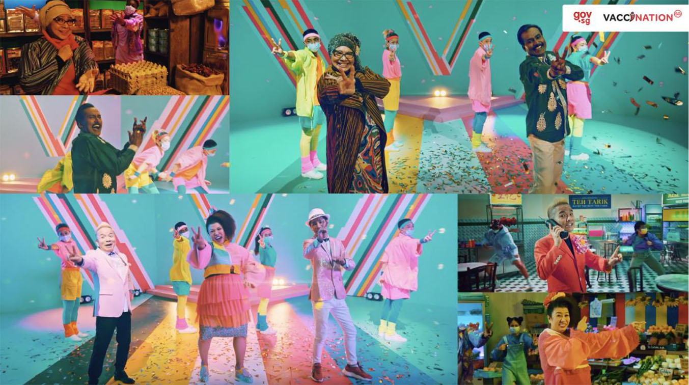 Tribal Worldwide Singapore launches music videos to encourage seniors to get vaccinated