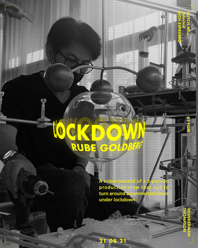 Dutch Mill Documents the struggles of a product launch with a 5-member crew in lockdown via Wunderman Thompson Thailand