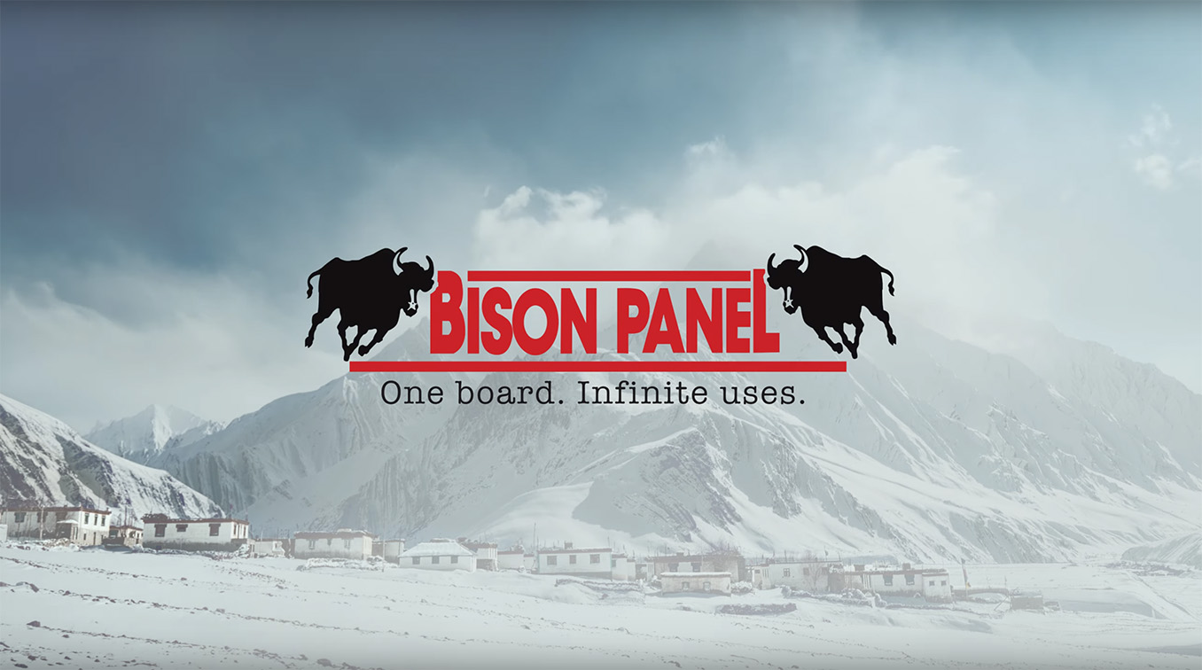 Doo Creative India highlights Bison Panel's 'Infinite Uses, One Board' positioning