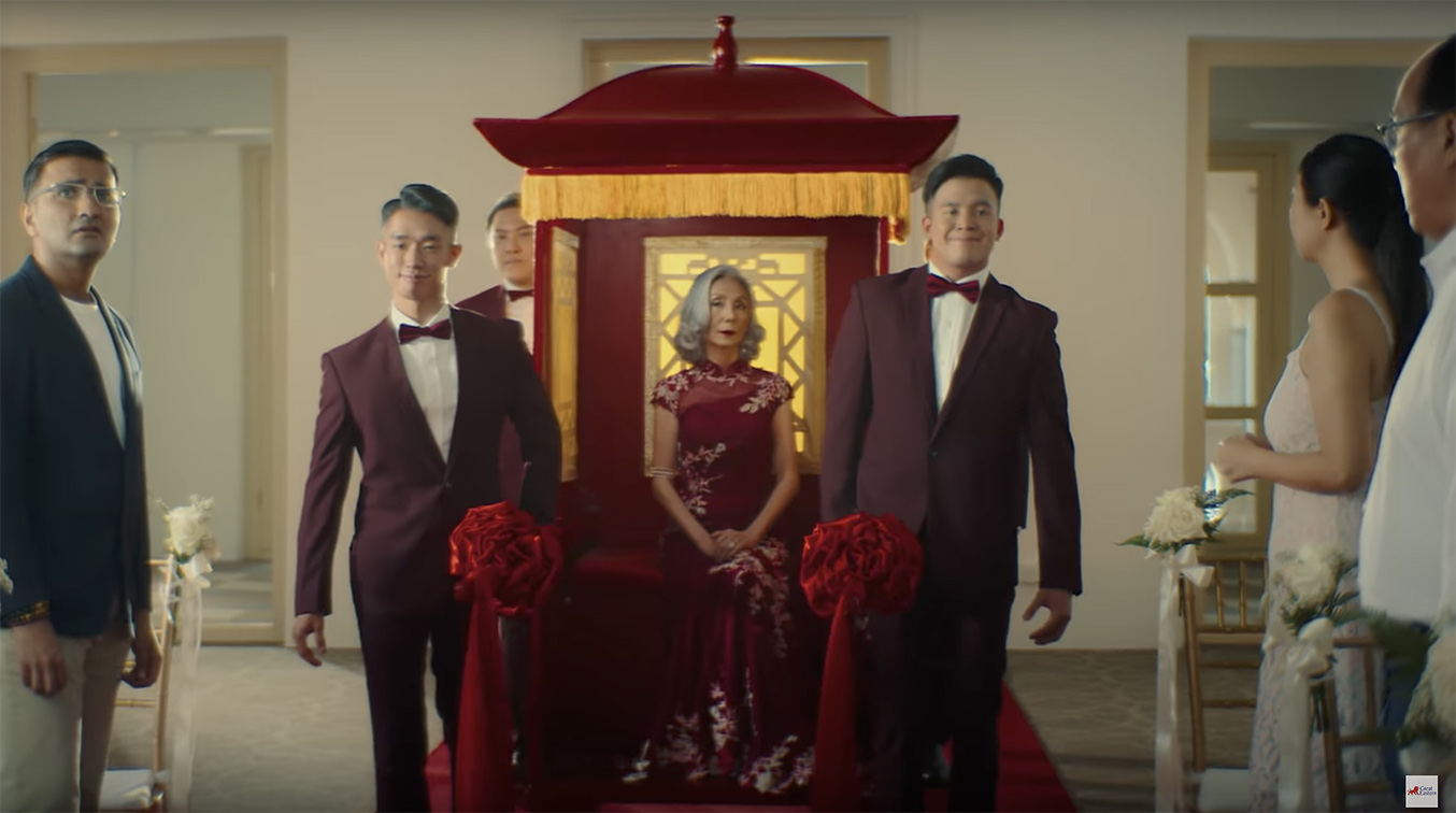 Great Eastern retirement campaign created by BLKJ Havas asks Singaporeans to protect their freedom to choose