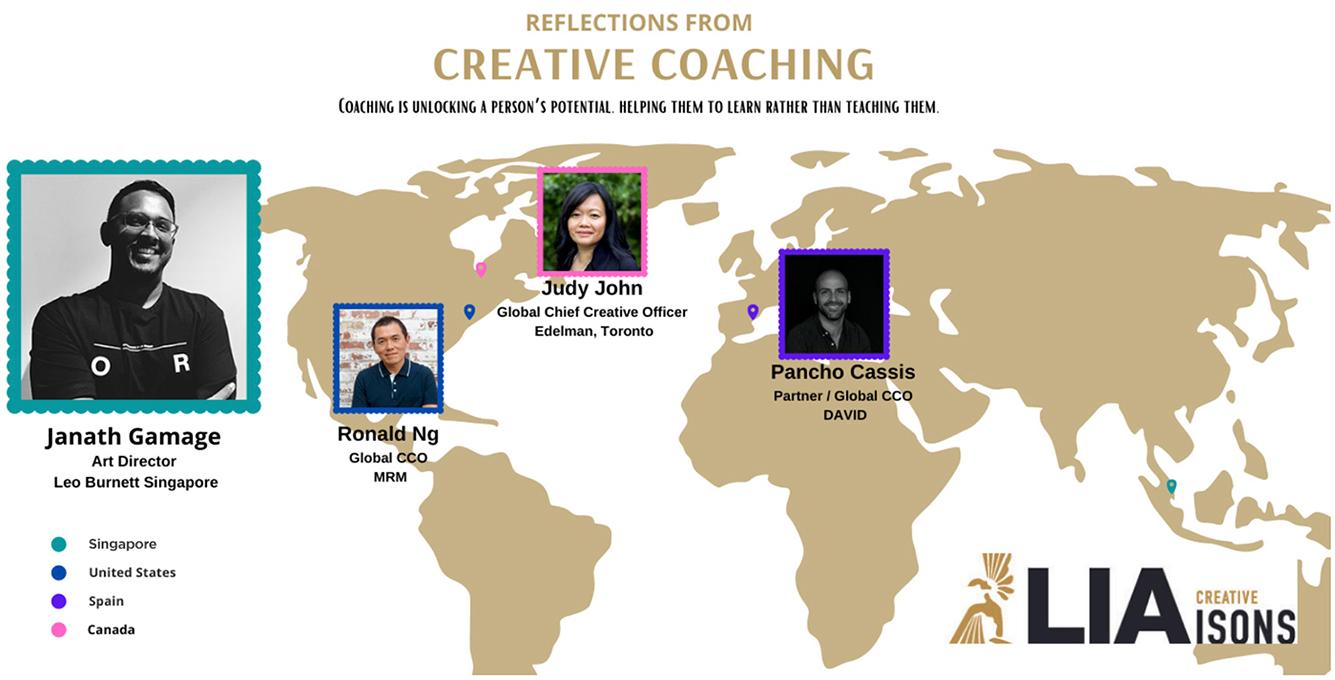 Leo Burnett Singapore Creative LIAisons 2021 mentee Janath Gamage shares his experience