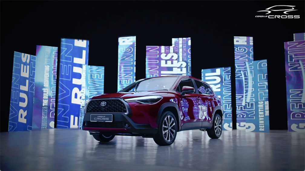 Two AM Music Global ignites the sound of the 2021 Toyota Cross