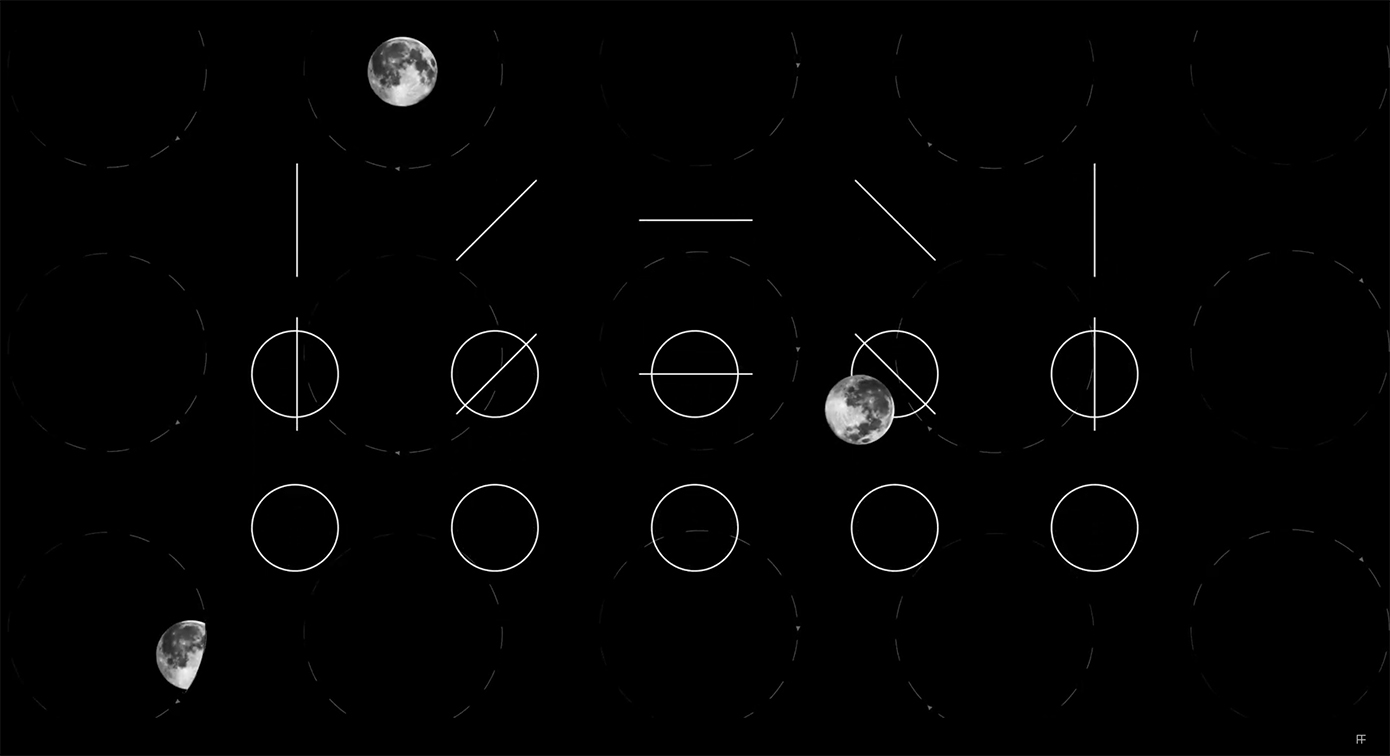 FRED & FARID Shanghai celebrates the Moon Festival in China by creating unique typeface