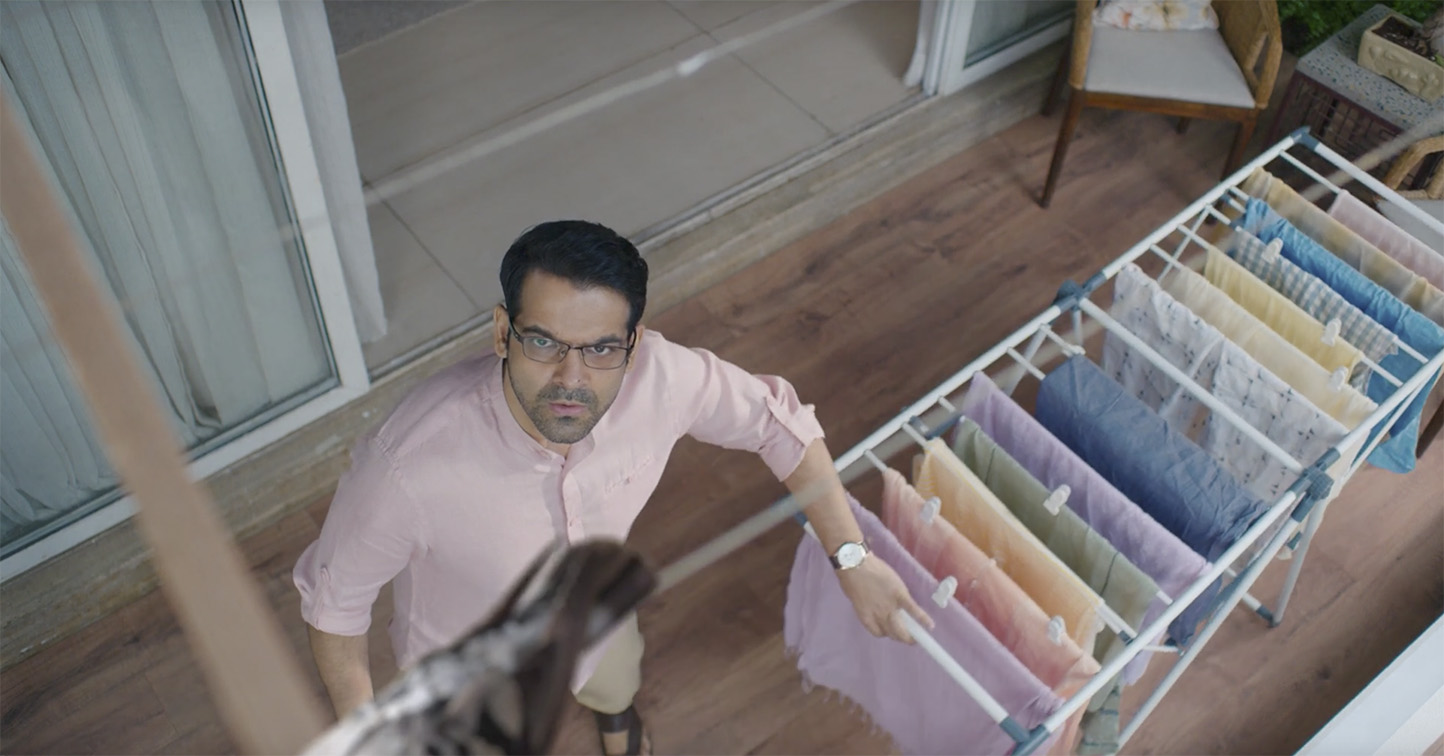 New campaign from Taproot Dentsu India helps Bosch take the struggle out of drying clothes