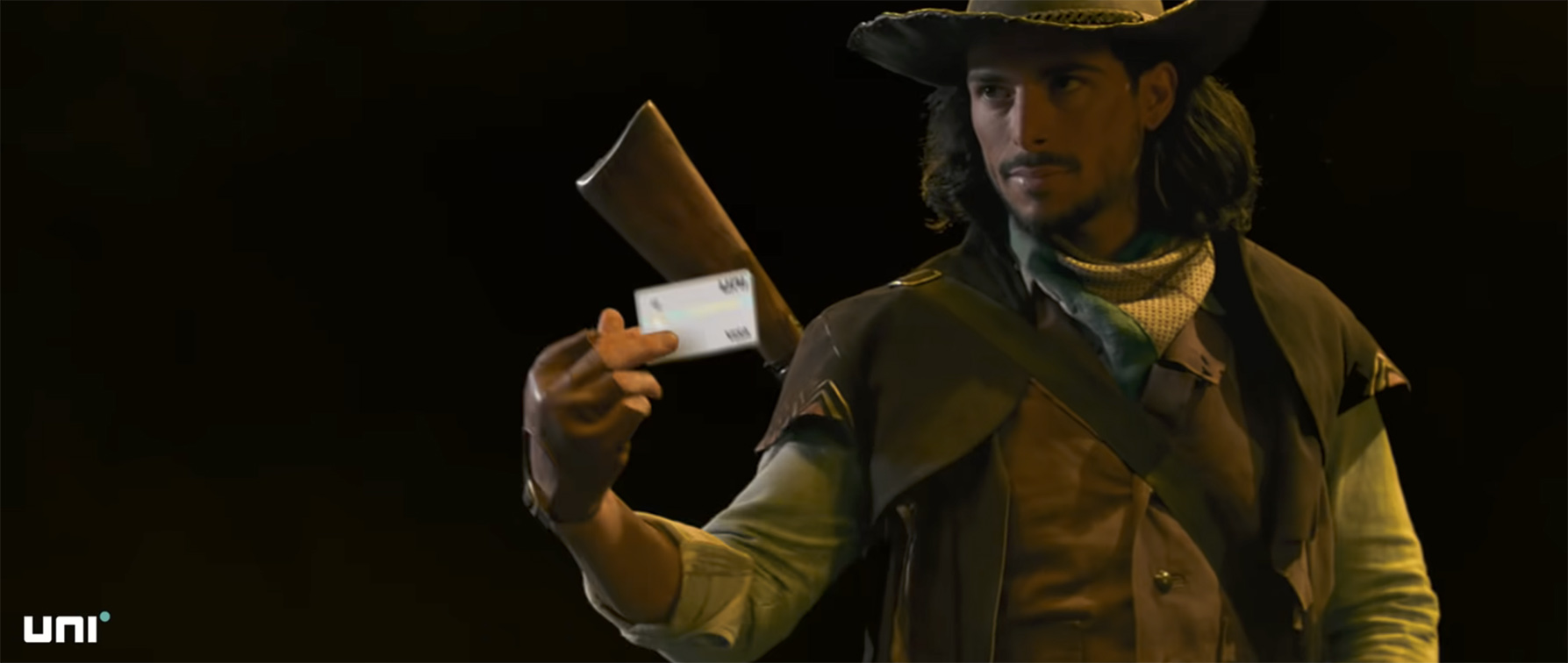 Dentsu Webchutney India launches Uni Cards new Pay 1/3rd Card with two battle  films starring a Samurai & Cowboy