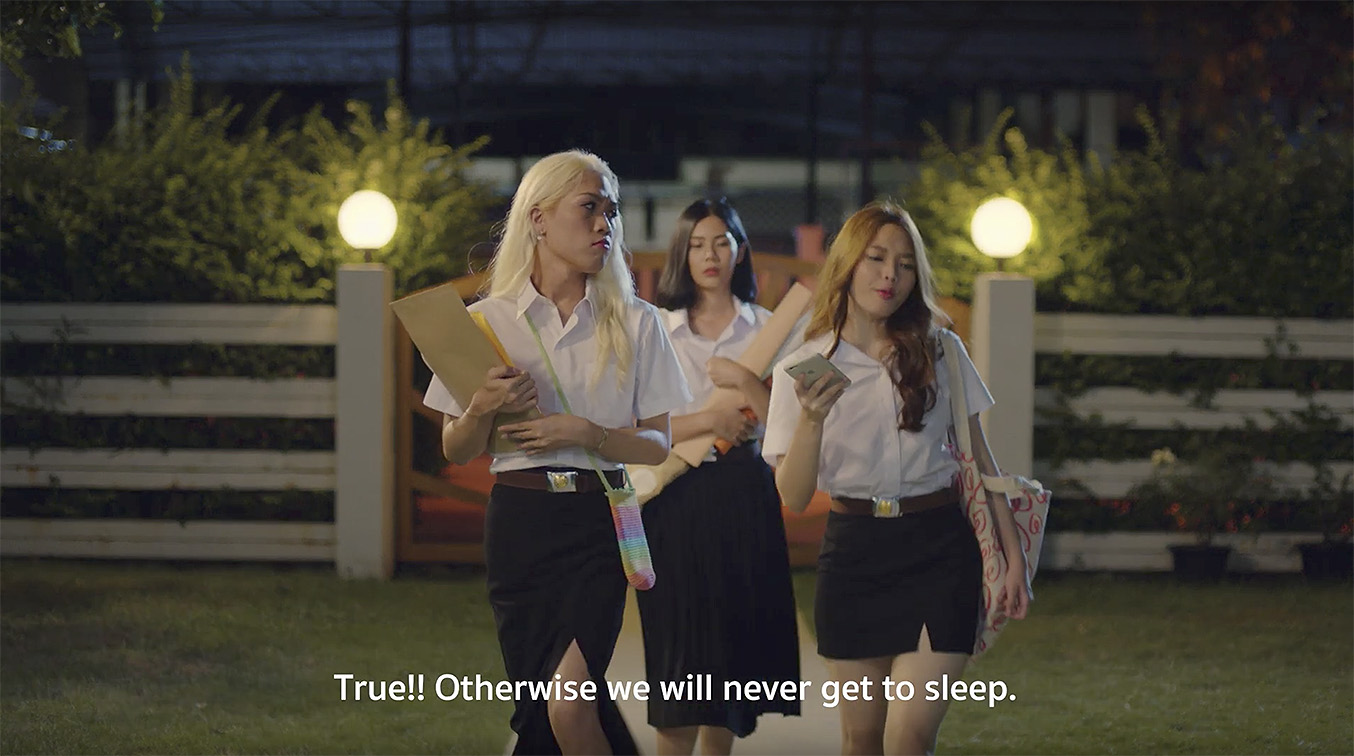 WORKKIT Bangkok creates series of humorous short films for sachet skincare brand Lyse