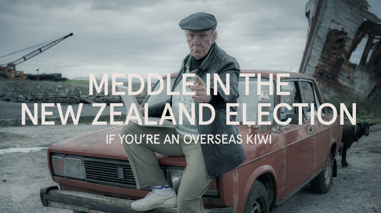 Special Group NZ takes out Regional Platinum Award – APAC for 'Meddle in the New Zealand Election' at New York Festivals' 2021 AME Awards