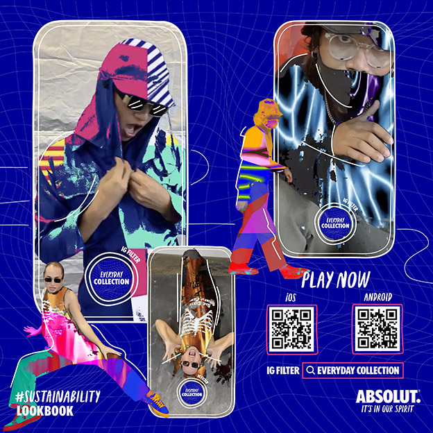Just In Case Bangkok launches virtual fashion collection for Absolut It's In Our Spirit to get Thais thinking about sustainability