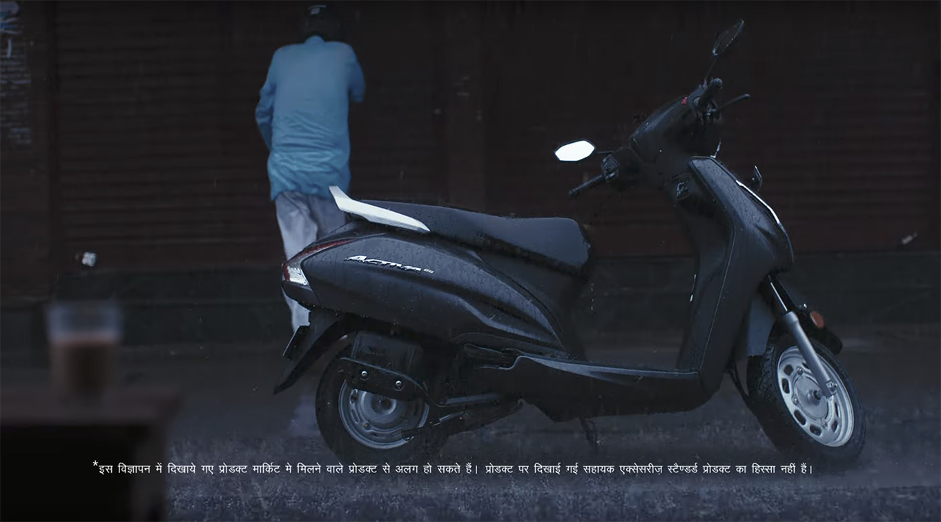 Honda's latest campaign via Taproot Dentsu India tells Indians they are the two feet of the nation