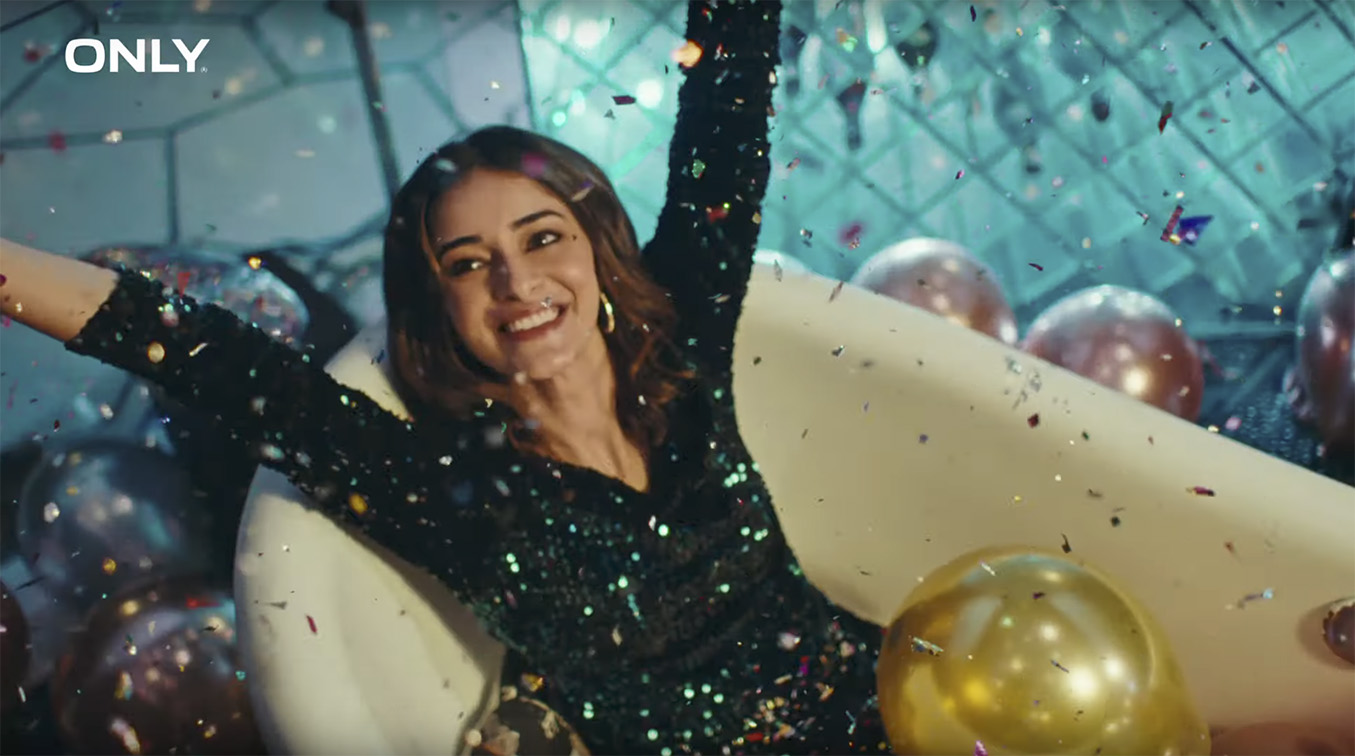 Taproot Dentsu India & ONLY launch campaign starring Bollywood actress Ananya Panday