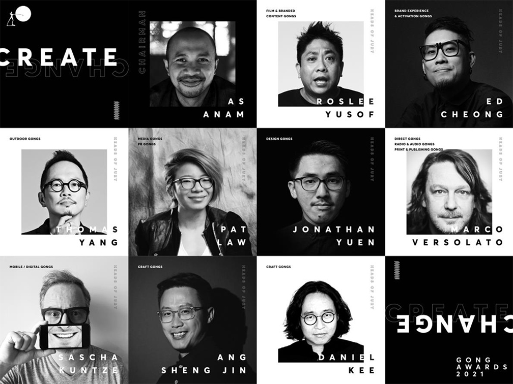 Singapore Creative Circle Gong Awards names 2021 jury heads lead by TBWA's AS Anam
